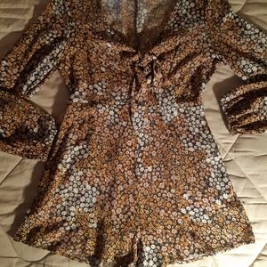 Daisy Covered Romper